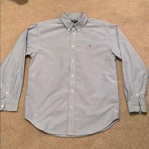 Ralph Lauren long sleeve button down oxford